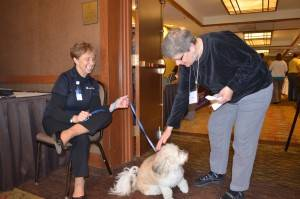 2016 conf therapy dog